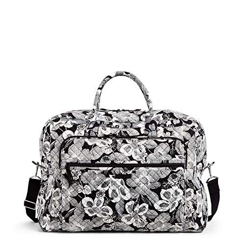 Vera Bradley Women's Signature Cotton Grand Weekender Travel Bag, Bedford Blooms, One Size