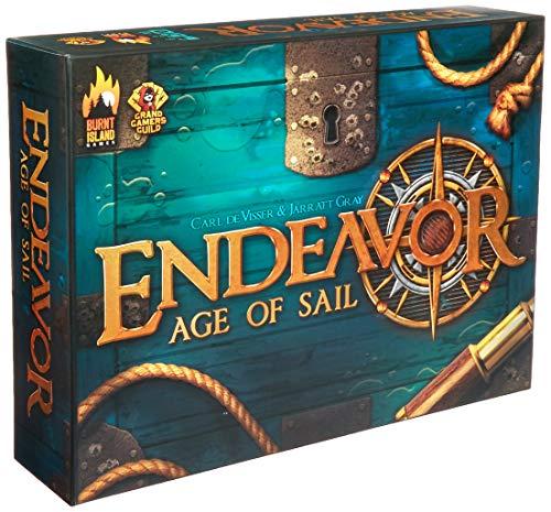 Burnt Island Games BTI1001 Endeavor Age of Sail Zubehör