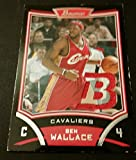 Ben Wallace Cavaliers 2008 Bowman Virginia Union Game Jersey Certified JG3