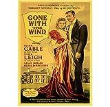ZOEOPR Leinwand Poster American War Love Film Vom Winde
