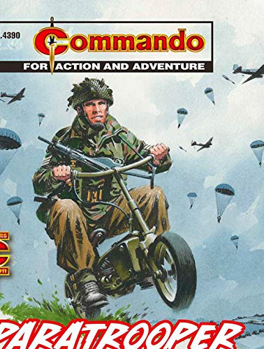 Commando #4390: Paratrooper (English Edition)