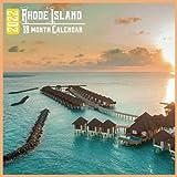 Rhode Island Calendar 2022: 18 Month Calendar Rhode Island, Square Calendar 2022, Cute Gift Idea For Rhode Island Lovers Women & Men, Size 8.5 x 8.5 Inch Monthly