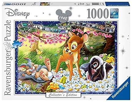 Ravensburger Puzzle 1000 Piezas, Bambi, Puzzle Disney, Rompecabezas Ravensburger de Alta Calidad, Edad Recomendada 12+