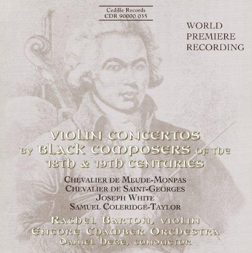 Violin Concertos By Black Composers