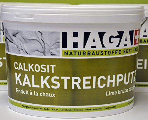 HAGA Calkosit Kalkstreich- und Rollputz 10 kg