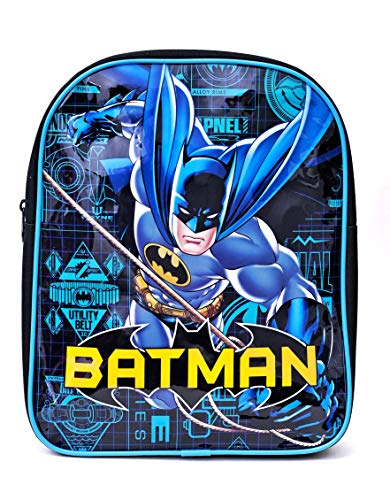 DC Comics Batman Kids Boys Backpack Bag Children - Official Merchandise
