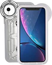 Underwater Photography Waterproof Phone Case Pouch for iPhone XR Enhanced Underwater Cell Phone Dry Bag with Armband O Lens Ring Full Sealed Waterproof Case IPX8 Certified