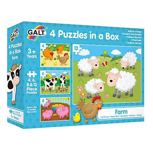 Puzzle 3 Años  marca Galt Toys Inc