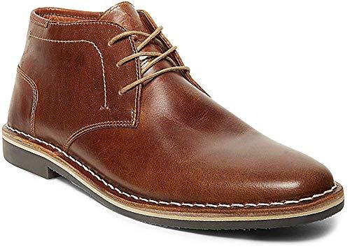 Steve Madden Men's Harken Chukka Boot, Cognac, 9 M US