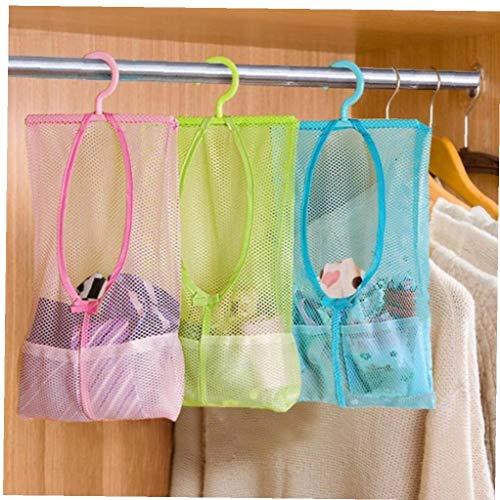Case Cover 1 Multifunktions Hängen Netz Beutel Schlafzimmer Kleidung Aufbewahrungstasche Clothespin Net Gehängt Unterwäsche-Aufbewahrungs Netz Beutel Werden kann