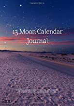 13 Moon Calendar Journal: Activities/Mood Tracker, Coloring, Affirmations and Prompts with Lined Pages to Journal