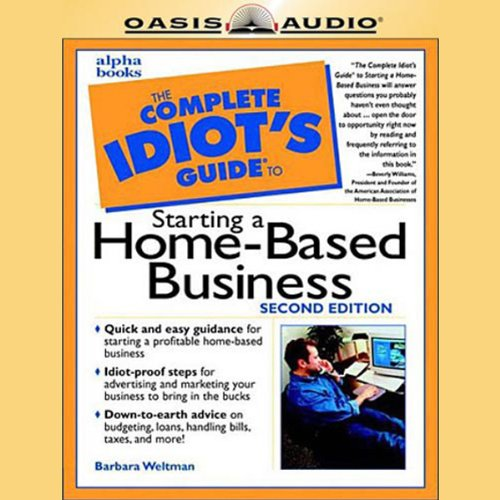 The Complete Idiot's Guide to Starting a Home-Based Business  cover art