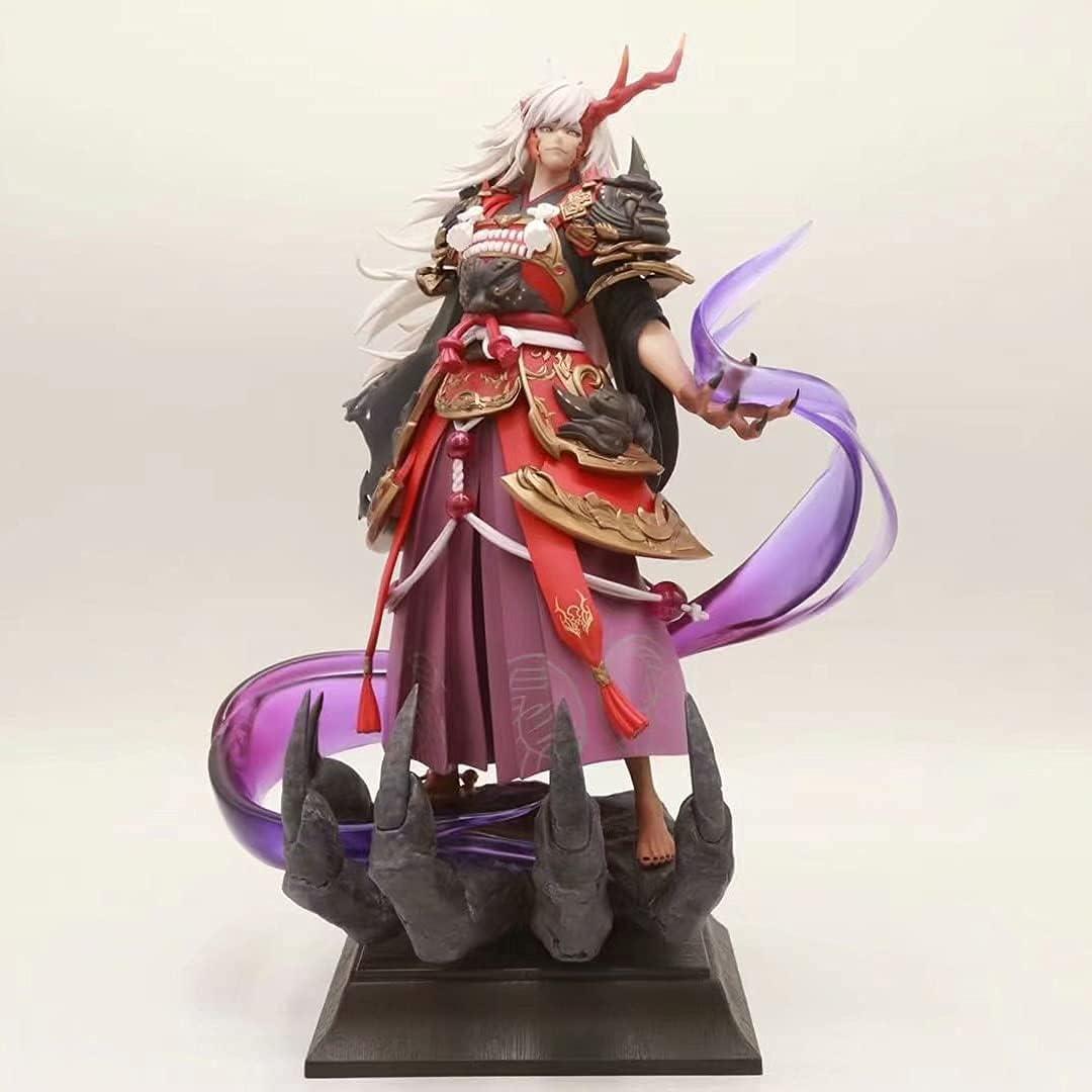 INJIE At the outlet price of surprise Premium Version Onmyoji Statue Ibaraki-douji Figures Anime