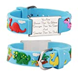 linnalove You are Braver Than You Believe Stronger Than You Seem and Smarter Than You Think Inspirational Bracelet -Cartoon Band (Dinosaur)