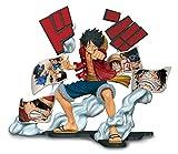 Banpresto One Piece Story Age, Figura de colección en plástico rígido D. Luffy (82399)