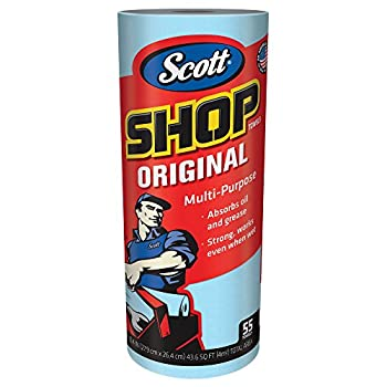 Scott Shop Towels Original  75147  Blue 55 Sheets/Standard Roll 12 Rolls/Case 660 Towels/Case