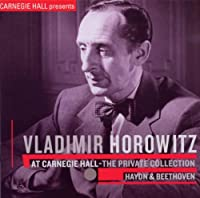 Vladimir Horowitz at Carnegie Hall-the