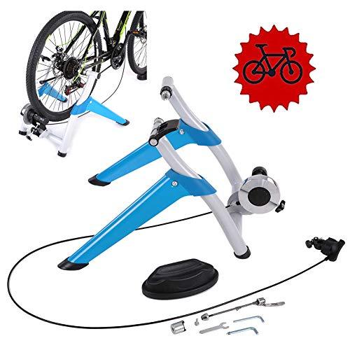 TANCEQI Fietstrainer, magneetoresistive, indoor trainingsuitrusting voor parking rek, sportplatform, geschikt voor training fietsen