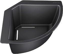 /Évier integr/é Graphite avec Mitigeur 8000 /Évier de Cuisine en Granit avec siphon et robinet Valence 1.5 /Évier de Cuisine Pour les Meubles /à Partir de 60cm avec Trop-Plein et Bec Pivotant /à 360/°