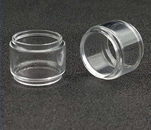without brand 2pcs Bombilla de Recambio Burbuja Tubos Fit for Drag 2 UFOrce T2 Glass extendido Pyrex Tubo Fat Boy Convex