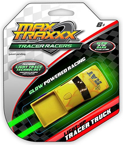 MaxTraxxx Tracer Racers Light Trace Technology Gravity Drive Truck (Assorted Colors) by MAX Traxxx