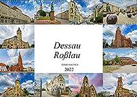 Dessau Rosslau Impressionen (Wandkalender 2022 DIN A2 quer): Eine wunderschoene Bilderreise durch Dessau Rosslau (Monatskalender, 14 Seiten )