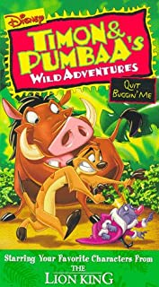 Timon & Pumbaa: Quit Buggin Me VHS