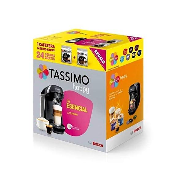Bosch CAFETERA MULTIBEBIDA TASSIMO Happy MAS DE 40 Bebidas DE Marcas CONOCIDAS