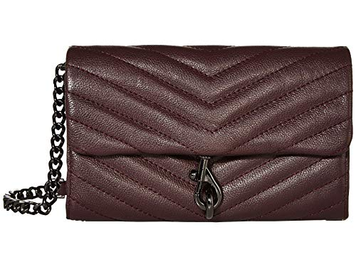 Rebecca Minkoff Edie Wallet On Chain Currant One Size