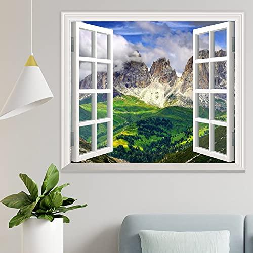 DKISEE Wpw093 - Adhesivo decorativo para pared, diseño de Dolomitas y Dolomitas