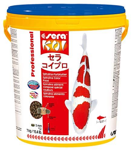 sera Koi Professional Spirulina-Farbfutter 7 kg