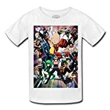 Fabulous T-Shirt Enfant One Punch Man Manga Hero Chauve Saitama