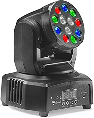 Stagg Headbanger Mini 6 LED Moving Head Beam
