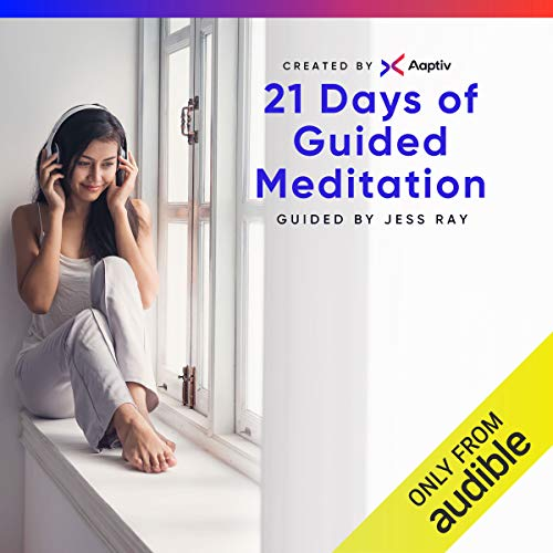 21 Days of Meditation                   By:                                                                                                                                 Aaptiv                               Narrated by:                                                                                                                                 Jess Ray                      Length: Not Yet Known     785 ratings     Overall 4.5