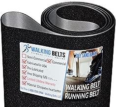 WalkingBeltsLLC - Epic A42T EPTL209120 Treadmill Walking Belt 2ply Premium Sand Blast + Free 1oz Lube