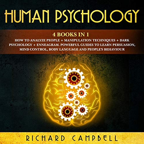 Human Psychology: 4 Books in 1 audiobook cover art