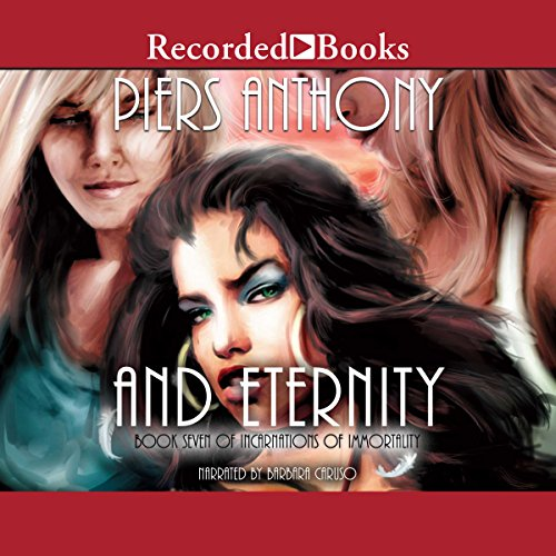 And Eternity, Incarnations of Immortality, Book 7  cover art