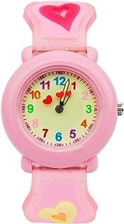 Wdnba Kids Outdoor Sports Children's Waterproof Wrist Watch Dinosaur 3D Watches for Boy Girl