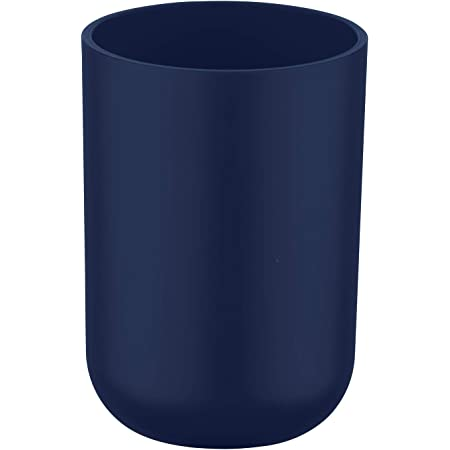 Vokmon Zahn Cup Kunststoff Anti-Rutsch-Zahn-Becher-Schale Badezimmer Zahn Cup 301 bis 400 ml Bad Zahnb/ürstenhalter Wasch Cup Dunkelblau