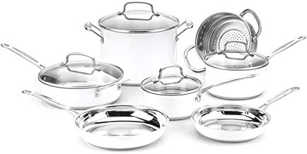 Best white pot and pan set Reviews