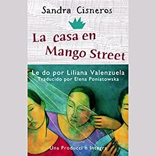 La Casa En Mango Street Audiobook Cover Art