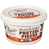 Asher's Chocolates, Chocolate Covered Pretzels, Bulk Smothered Pretzels, Gourmet Sweet and Salty...