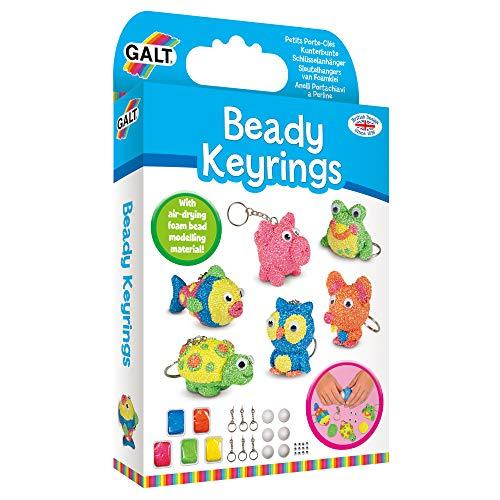 Galt Toys Llaveros de perlitas, Multicolor, 15.5x3.5x26.3 (1004957)