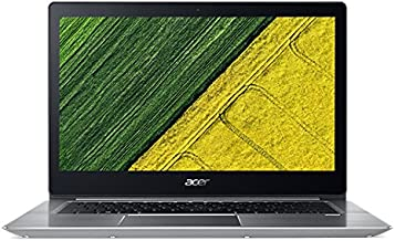 """Acer Swift 5 15.6"""" Laptop Computer - Silver, Intel Core i5-8250U Processor 1.6GHz, 8GB DDR4 Onboard RAM, 256GB Solid State..."""
