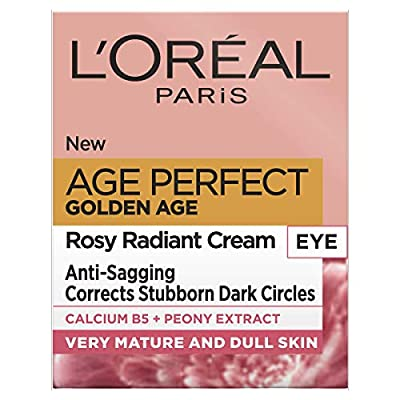L'Oreal Paris Age Perfect Golden Age Rosy Radiant Eye Cream, 15 ml