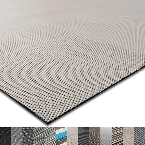 casa pura® Indoor- und Outdoor-Bodenbelag Palermo   kunstvoll gewebter Terrassenteppich   als Outdoor Teppich Meterware oder Läufer für innen   40 Größen (180x300cm)