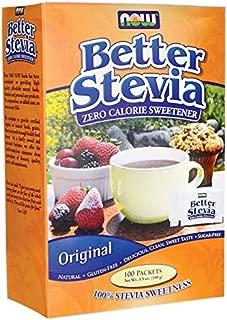[海外直送品] ナウフーズ  Stevia Extract Packets 100/box