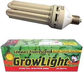 Hydrofarm FLC125W 125-Watt Compact Warm Fluorescent Bulb