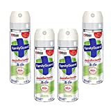 4 Pack Family Guard Desinfectante Superficies Y Ambientes To Go 55 Ml c/u