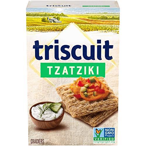 Triscuit Crackers, Tzatziki Flavor, 1 Boxes (8.5 Oz), 1Count